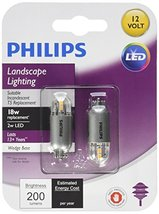 Philips 463455 18W Equivalent Soft White T5 Wedge Capsule T5 2 Pack - $16.99