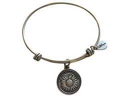 Bella Ryann You Are My Sunshine Silver Charm Bangle Bracelet