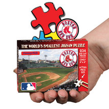 MLB World's Smallest Puzzle - Red Sox Boston 234 Pieces NEW - $11.99