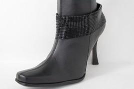 Moda Donna Stivali Bracciale Largo Rete Nera Catena di Metallo Caviglier... - $29.35