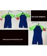 Infant One Piece Swimsuit Lycra 50 UPF 6-12 Months Blue & Green Variety ... - $9.99