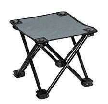 Black Temptation Folding Chair Portable Outdoor Folding Chair Folding St... - £21.36 GBP