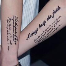 SEXY Tattoo sleeve Men And Women Fake Tatoo Body Art Waterproof Temporary - $2.54