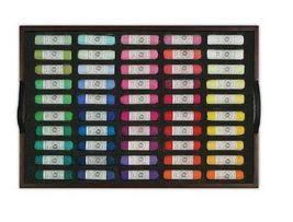 Mungyo Artists Handmade Soft Pastels 200 Colors Set Wooden Case image 4