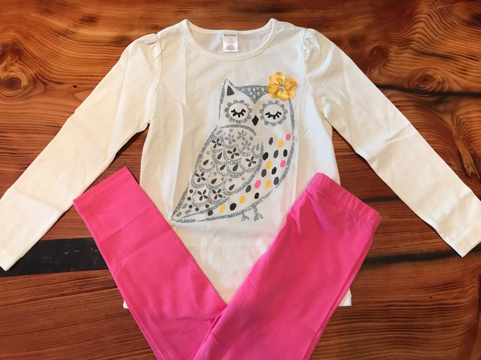 NWT Gymboree Butterfly Blossoms Daisy Flower Embroidered Tee Top U Pick Size NEW