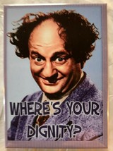 Larry Three Stooges 3 Stooges Dignity Moe Curly magnet TV novelty magnets - $7.49