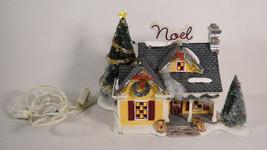 Dept 56 Snow Village Noel House Christmas Lighted - $128.70