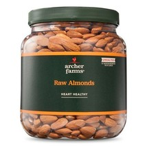 Archer Farms Raw Almonds Unsalted - 32 Oz Jar - $31.49