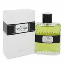 Christian Dior Eau Sauvage Parfum 3.4 Oz Parfum Spray - $300.78