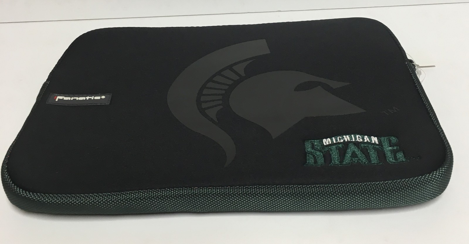 Michigan State University Logo Tablet Ipad Laptop Protection Case by Fanatic