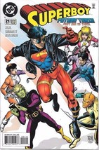 Superboy Comic Book Series 3 #21 DC Comics 1995 NEAR MINT NEW UNREAD - $3.25