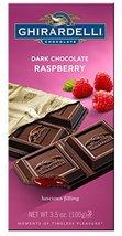 Ghirardelli Chocolate Bar, Dark & Raspberry, 3.5-Ounce Bars(Pack of 12) - $75.50