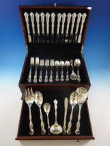 Mademoiselle by International Sterling Silver Flatware Set 12 Service 67 Pieces - $3,757.73