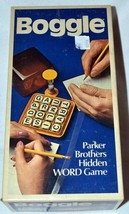 BOGGLE - Parker Brothers Hidden Word Game Vtg 1976 No. 104 Complete - $29.69