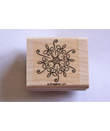 Stampin Up! Snowflake Mounted Rubber Stamp - $8.99