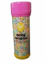 Easter Spring Sprinkles Mix Pastel Treat Decorations 3.7 oz Wilton - $6.52
