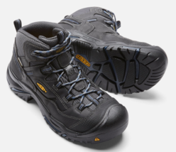 Keen Braddock Mid Size US 11.5 M (D) EU 45 Men's WP Soft Toe Work Shoes 1014605 - $117.55