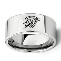 Oklahoma City Basket Ball Team Logo Tungsten Carbide Comfort Fit Ring D5 - $32.99