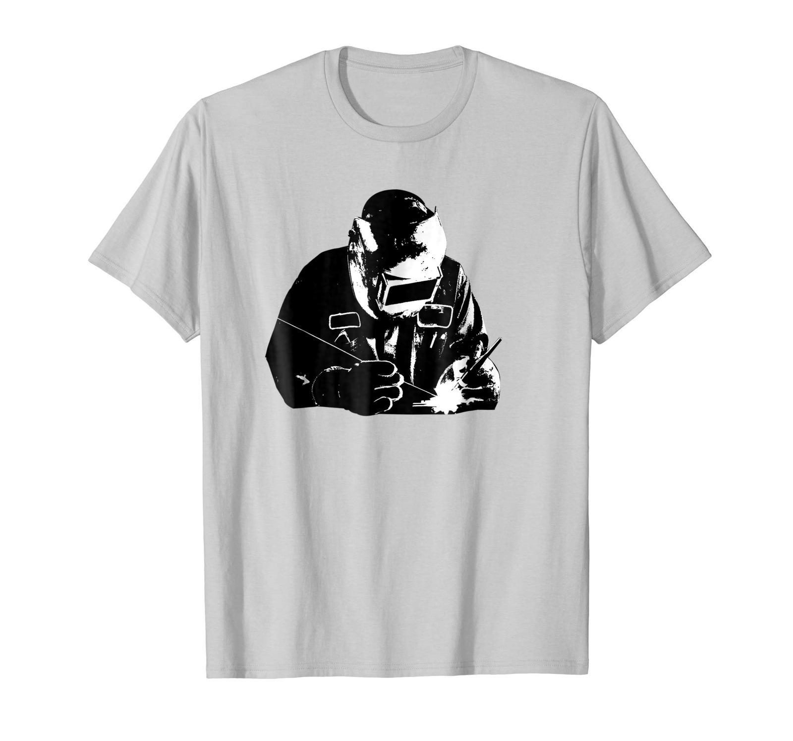Uncle Shirts -   Welder Silhouette Shirt | Cute Shadow Craftsman T-Shirt Gift Me