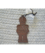 New Rustic Tin Soldier Christmas Ornament - $3.50