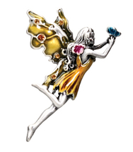 Dandelion Fairy Pendant - $12.95