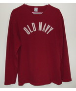 Mens Old Navy Red Long Sleeve Shirt Size Large - $8.95