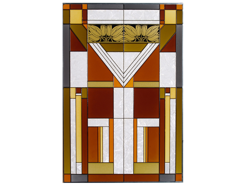 Stained glass mission style 20x30  u 016