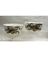 TWO(2) - NOBLE EXCELLENCE China - HOLLY BELLS Pattern - SOUP/CEREAL BOWLS - $29.95