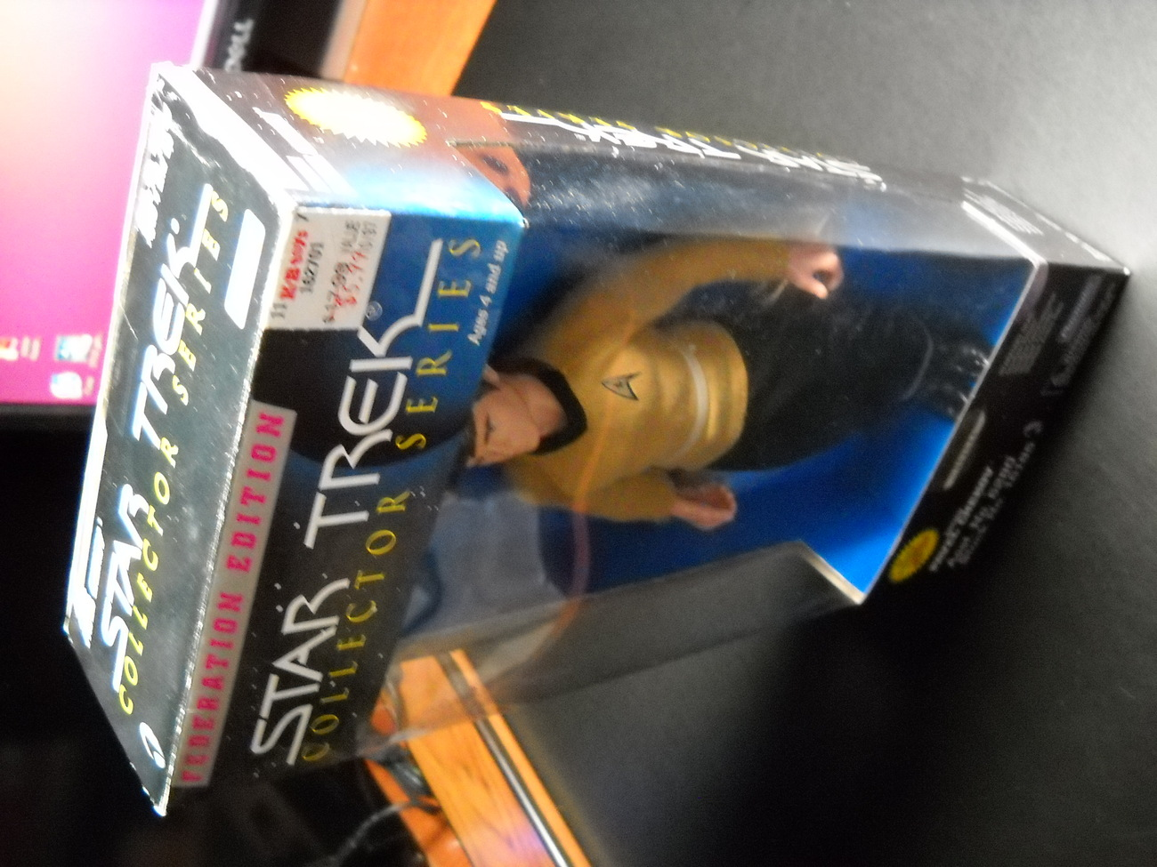 Star Trek Collector Series Federation Edition Ensign Pavel Checkov 9 Inch Sealed