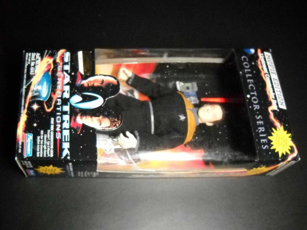 Toy star trek playmates star trek generations movie edition lt commander data 1994 9 inch boxed sealed 01