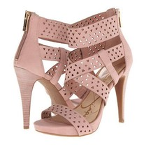 Women's Jessica Simpson CHINAH Heels Sandals Leather Pink Miss Piggy  US... - $59.39