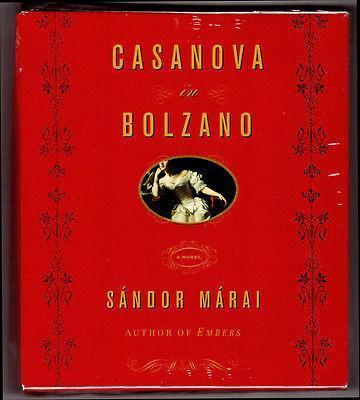 Primary image for Sandor Marai CASANOVA IN BOLZANO Historical Fiction 8 Compact Discs CDS