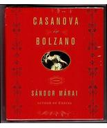 Sandor Marai CASANOVA IN BOLZANO Historical Fiction 8 Compact Discs CDS - $15.99