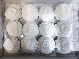 100% AUTHENTIC BRAND NEW CHANEL 2018/2019 White Camellia Flower Box Of 20  image 2