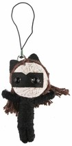"""Dc Comics 2.5 """" Catwoman Saiten Puppe Keychain Voodoo Handyanhänger Figur Feder"""