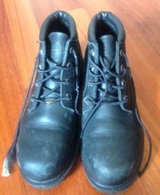 Authentic Black Leather Waterproof Timberland Boots SZ 9.5 M - $847,46 MXN