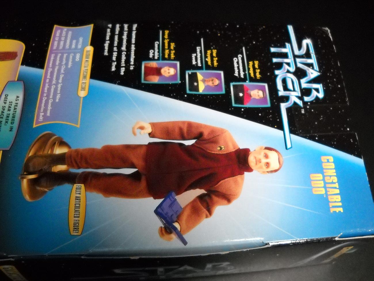 Star Trek Warp Factor One Constable Odo Deep Space Nine Playmates Sealed Box