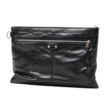 BALENCIAGA Leather Oversized Clutch Bag, BA1020 - $1,810.23 CAD