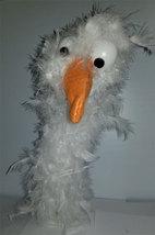 """C7 * Deluxe Custom """"White Bird""""  Sock Puppet * Custom Made - $10.00"""