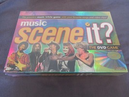 Scene it? Music Edition DVD Game New Sealed Christmas Present - $16.92