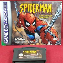 Spider-Man: Mysterio's Menace Game & Manual Only (Nintendo Game Boy Adva... - $12.38
