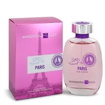 Mandarina Duck Lets Travel to Paris by Mandarina Duck Eau De Toilette Spray 3.4  - $22.59