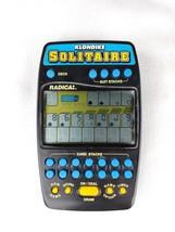 Klondike Solitaire Radica Model 2320 Electronic Handheld Game - $26.25