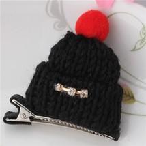 M MISM Lovely Cute Rhinestones Hat Hair Clips for Children Girls Kids Hairpins H - $5.59