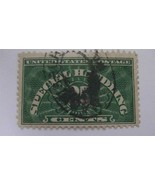 Special Handling Deep Green Used USA 25 Cent Stamp - $11.18
