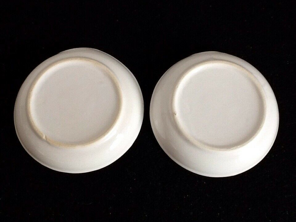 Campbell's Kids CSC Ceramic Spoon Rests Set of 2VTG Red & White Chef Hat/Apron