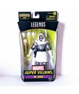 Marvel Legends Villains 2021 Wave White DR. DOOM 6in Figure BAF Xemnu - $25.15