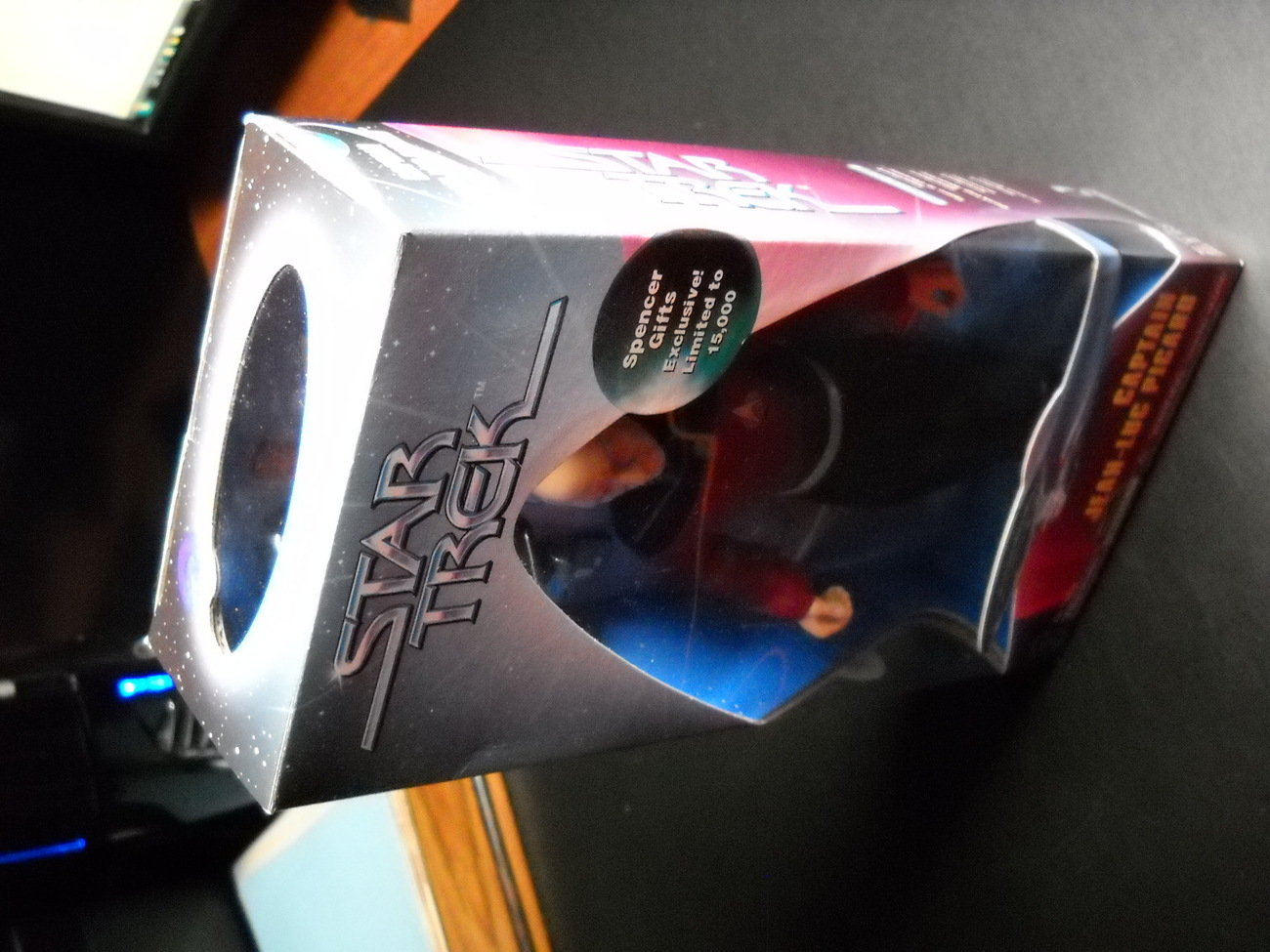 Star Trek Spencer Gift Captain Jean-Luc Picard Exclusive 1997 Playmates Sealed