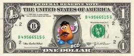MR POTATOHEAD Toy Story on REAL Dollar Bill Disney Cash Money Memorabilia - $8.88