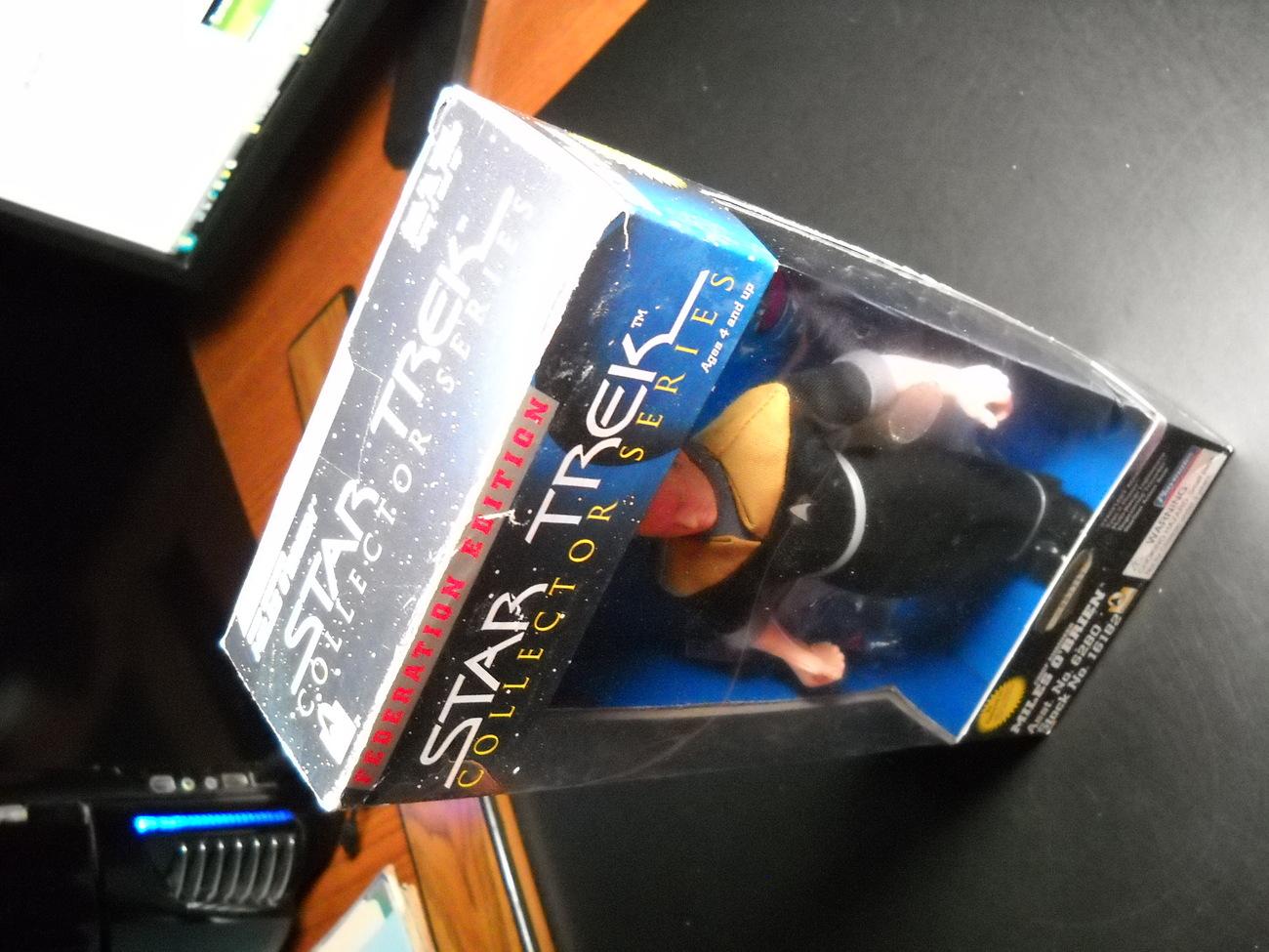 Star Trek Collector Federation Edition Engineer Miles O'Brien 9 Inch Sealed Box